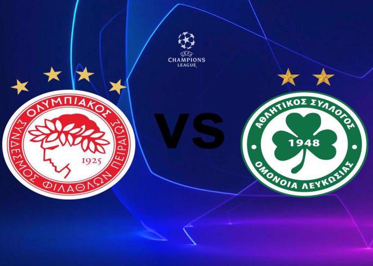 Ολυμπιακός - Ομόνοια Live Streaming: Olympiacos - Omonoia | Κανάλι