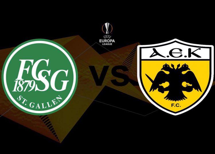 Σεντ Γκαλεν - ΑΕΚ Live Streaming: St. Gallen - ΑΕΚ | Κανάλι