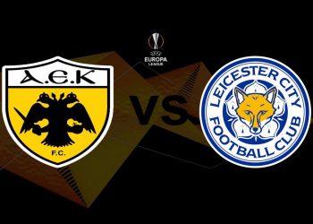 ΑΕΚ - Λέστερ Live Streaming: AEK - Leicester Ζωντανά