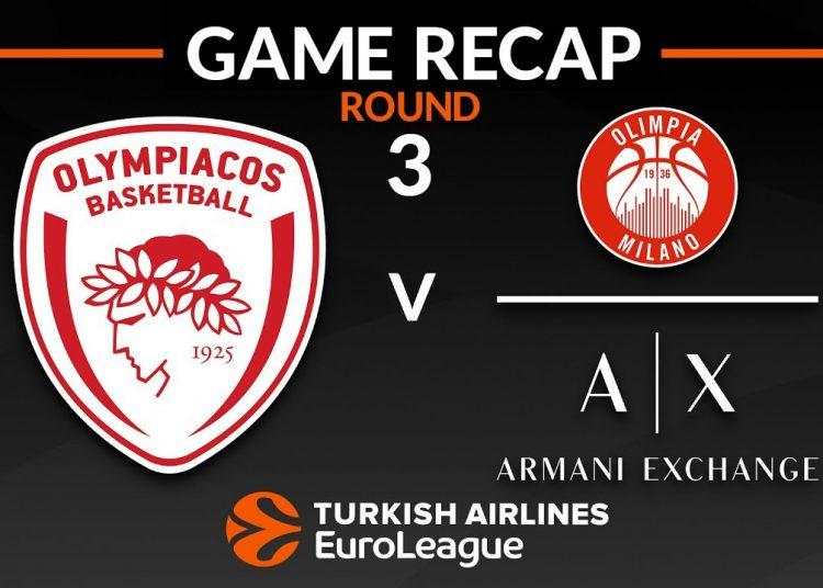 Ολυμπιακος - Αρμανι Live Streaming: Olympiacos - Armani | Κανάλι