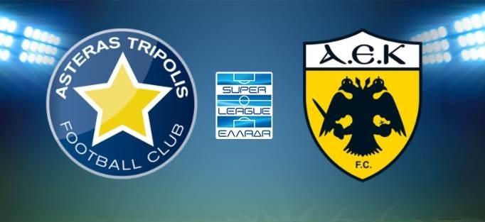 Αστέρας Τρίπολης - ΑΕΚ Live Streaming: Ζωντανά | Κανάλι