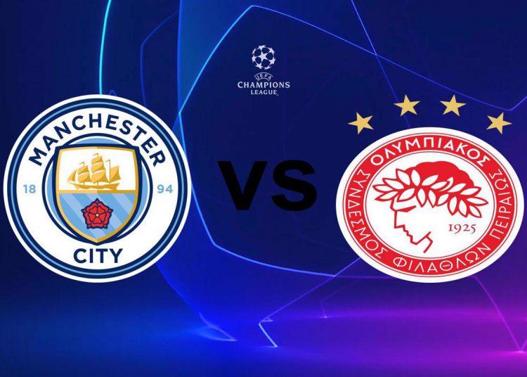 Μάντσεστερ Σίτι - Ολυμπιακός Live Streaming: Manchester City - Olympiakos