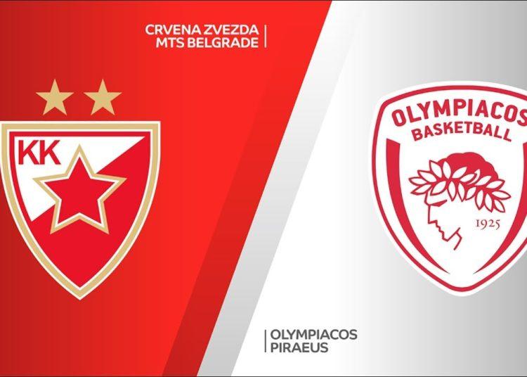 Ερυθρος Αστερας Ολυμπιακος Live Streaming | Crvena Zvezda - Olympiacos