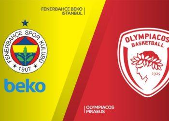 Φενερμπαχτσε - Ολυμπιακος Live Streaming | Euroleague