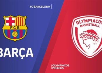 Μπαρτσελόνα - Ολυμπιακός Live Streaming: Barcelona - Olympiacos