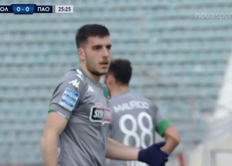 Βόλος - Παναθηναϊκός: Ευκαιρία για γκολ, άστοχος ο Ιωαννίδης (video)