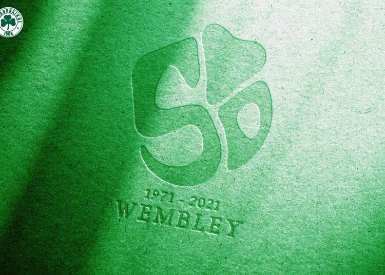 Αυτό είναι  το λογότυπο του Έτους Wembley