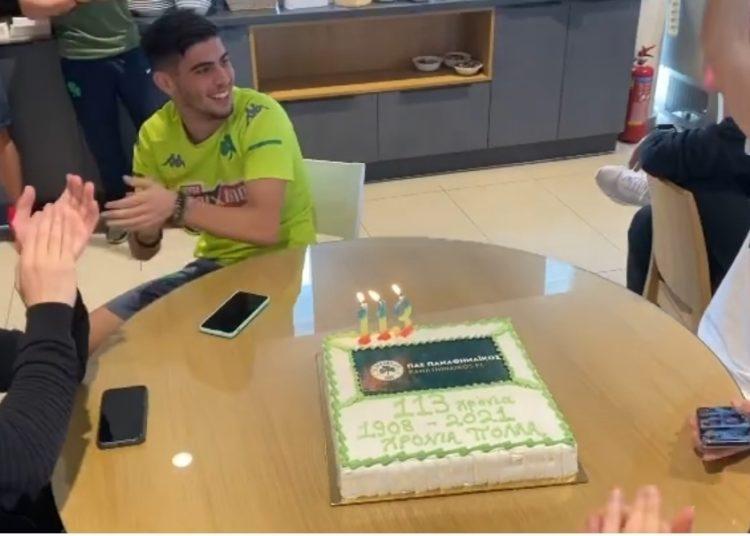 Έκοψαν τούρτα και τραγούδησαν τον ύμνο στο Κορωπί!