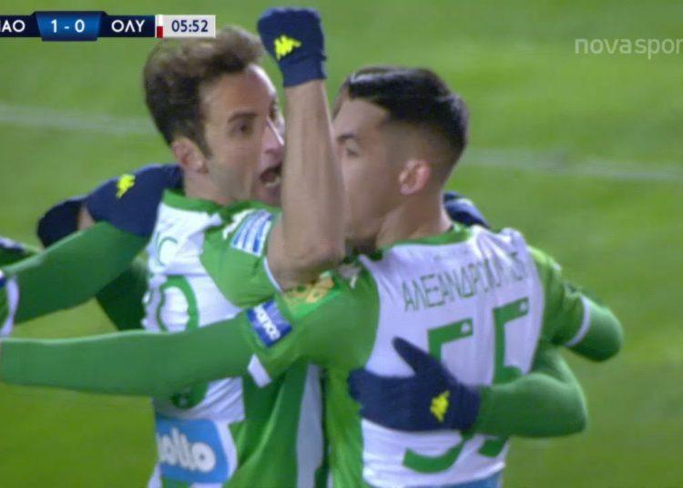 """Τον """"ξέρανε""""! 1-0 με Μαουρίσιο ο Παναθηναϊκός (δείτε το γκολ)"""