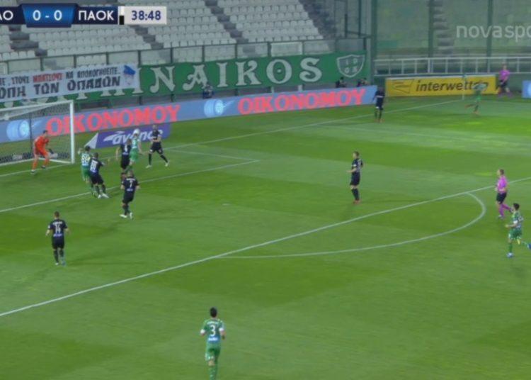 """Το """"κάρφωσε"""" ο Μακέντα, 1-0 ο Παναθηναϊκός (δείτε το γκολ)"""