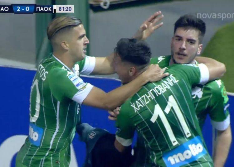Ο Ιωαννίδης το 2-0 κόντρα στον ΠΑΟΚ (δείτε το γκολ)