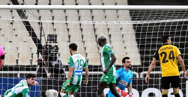 ΑΕΚ - Παναθηναϊκός 1-1 (Highlights/vid)