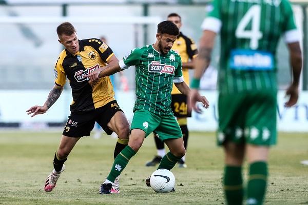 Παναθηναϊκός - ΑΕΚ 0-1 (Highlights/vid)