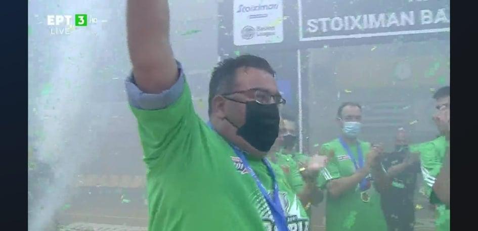 Η απονομή στον πρωταθλητή Παναθηναϊκό! (pics)