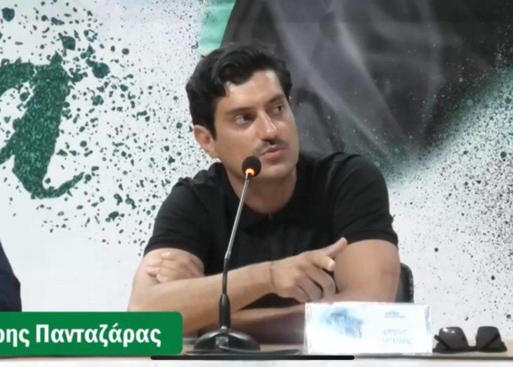 Πανταζάρας: «Είμαι Παναθηναϊκός - Θα δείτε την τρυφερή πλευρά του Γιαννακόπουλου!»