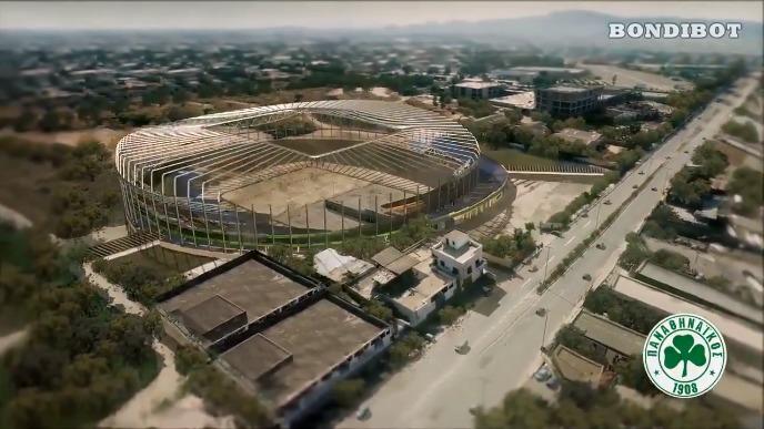 Έτσι θα είναι ο Βοτανικός με το νέο γήπεδο (vid)