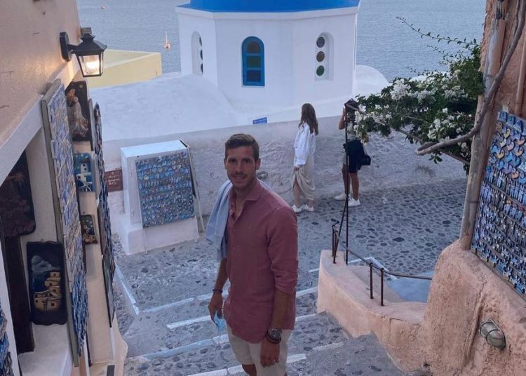 Ο Ρούμπεν Πέρεθ βρισκόταν στην Ελλάδα τον Ιούνιο! (pics)