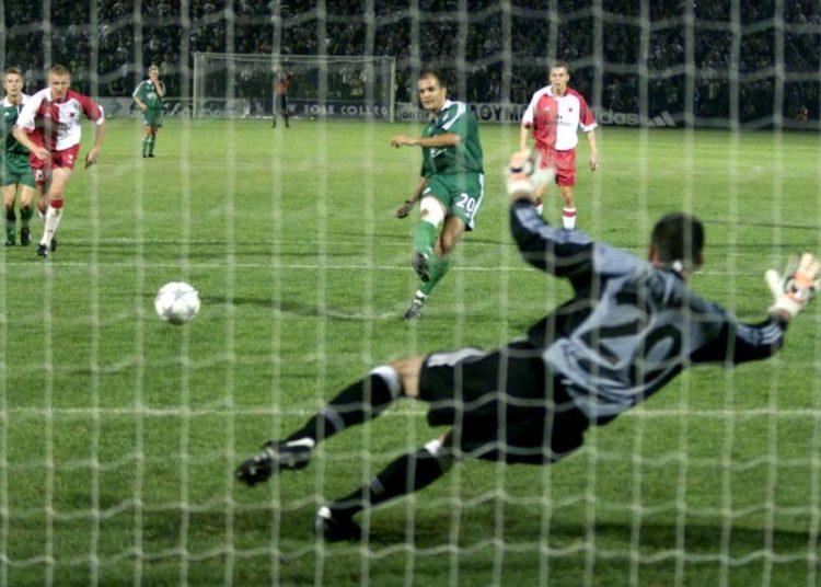 Πριν από 20 χρόνια η πρόκριση στο Champions League κόντρα στην Σλάβια Πράγας (vid)