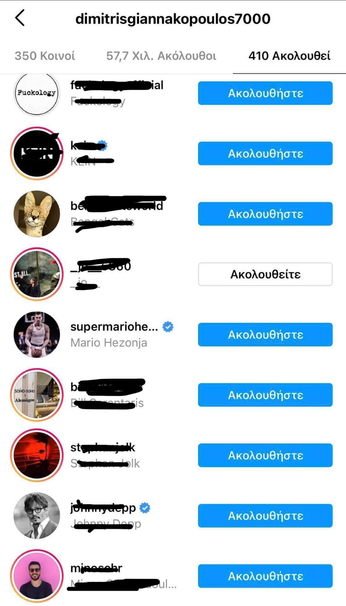 Το «follow» του Γιαννακόπουλου στον Χεζόνια, παρά το «διαζύγιο» με τον Παναθηναϊκό! (pic)