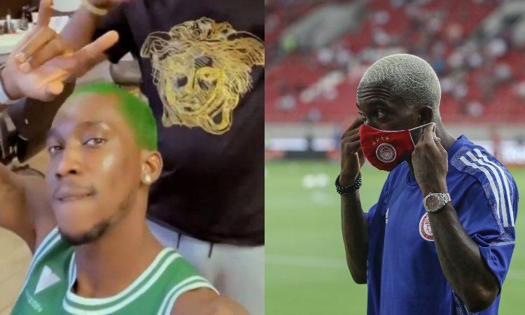 Έπος: Το νέο «7άρι» του Ολυμπιακού φόρεσε το Τριφύλλι και έβαψε πράσινα τα μαλλιά του!