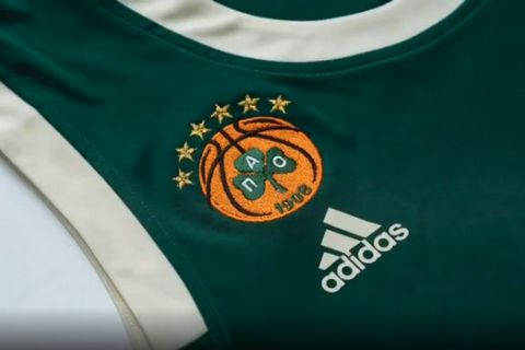 Παναθηναϊκός: Με Adidas η νέα φανέλα του Εξάστερου