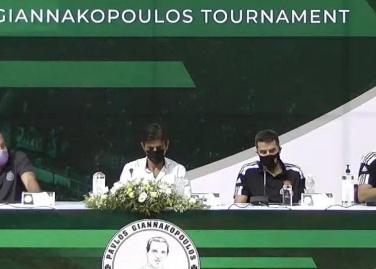 Στο ίδιο τραπέζι Ομπράντοβιτς - Γιαννακόπουλος!