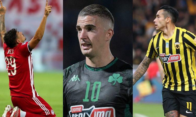Χαμός στη λίστα των σκόρερ - Έφθασαν έξι ποδοσφαιριστές τον Καρλίτος!