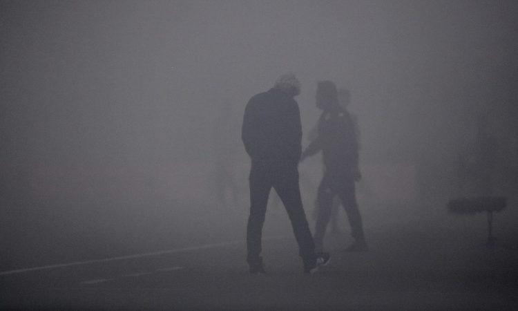 Αηδία: Δύο διακοπές στο Καραϊσκάκη λόγω ομίχλης!