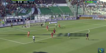 Κορυφαίο γκολ της 4ης αγωνιστικής του Χατζηγιοβάνη! (vid)
